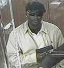 Houston Bank Robbery Suspect, Photo 1 of 4 (4/2/13)