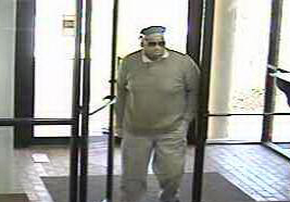 Oklahoma City Bank Robbery Suspect, Photo 3 of 6 (5/13/13)