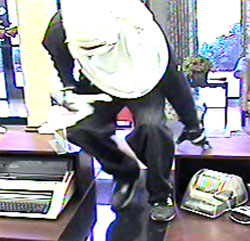 Suspect in Huntsville Bank Robbery, Photo 2 of 2 (10/21/10)
