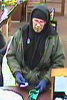 Denver Bank Robbery Suspect, Photo 2 of 2 (12/11/09)