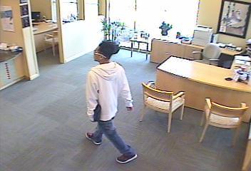 Oklahoma City Bank Robbery Suspect, Photo 3 of 3 (4/12/13)
