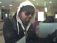 San Diego Bank Robbery Suspect, Photo 2 of 5 (1/4/13)