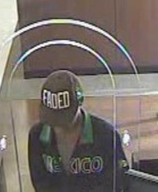 Houston Bank Robbery Suspect, Photo 2 of 3 (10/10/13)