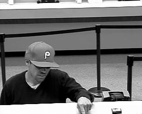 Philadelphia Bank Robbery Suspect, Photo 2 of 3 (7/16/13)