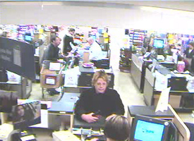 Carmichael, California Bank Robbery Suspect, Photo 1 of 4 (11/2/09)