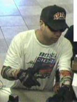 San Diego Bank Robbery Suspect, Photo 3 of 4 (5/30/13)