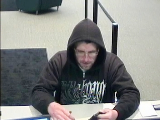 Philadelphia Bank Robbery Suspect, Photo 1 of 5 (11/12/13)