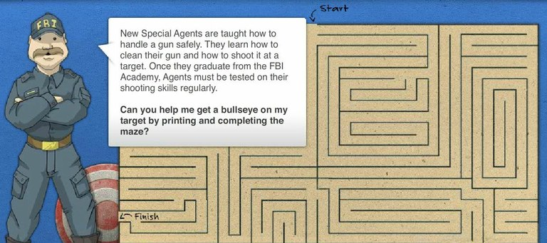 About the FBI: Maze