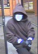 Denver Bank Robbery Suspect, Photo 2 of 6 (12/3/09)