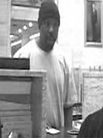 Houston Bank Robbery Suspect, Photo 1 of 3 (12/18/13)