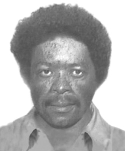 Fugitive's photograph prior to arrest