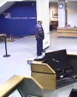 Oklahoma City Bank Robbery Suspect, Photo 2 of 5 (2/14/13)