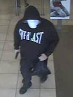 Davie, Florida Bank Robbery Suspect, Photo 1 of 3 (12/9/13)