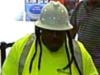 Spring, Texas Bank Robbery Suspect, Photo 2 of 4 (10/4/13)