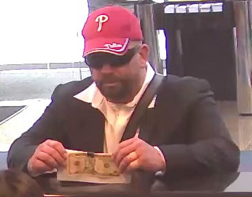 Suspect in Blue Bell Bank Robbery (8/2/13)
