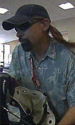 Seattle Division Bank Robbery Suspect, Photo 4 of 6 (11/6/12)