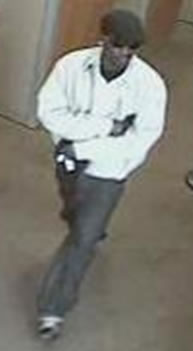 Houston Bank Robbery Suspect, Photo 4 of 4 (4/2/13)