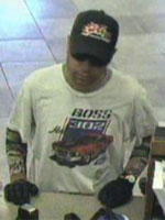 San Diego Bank Robbery Suspect, Photo 4 of 4 (5/30/13)