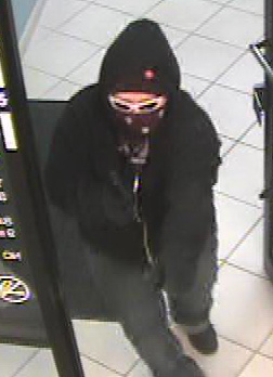 Englewood Bank Robbery Suspect, Photo 3 of 4 (12/15/10)
