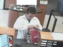 Imperial Beach, California Bank Robbery Suspect, Photo 3 of 4 (11/17/12)