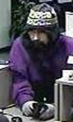 Seattle Division Bank Robbery Suspect, Photo 2 of 6 (11/6/12)
