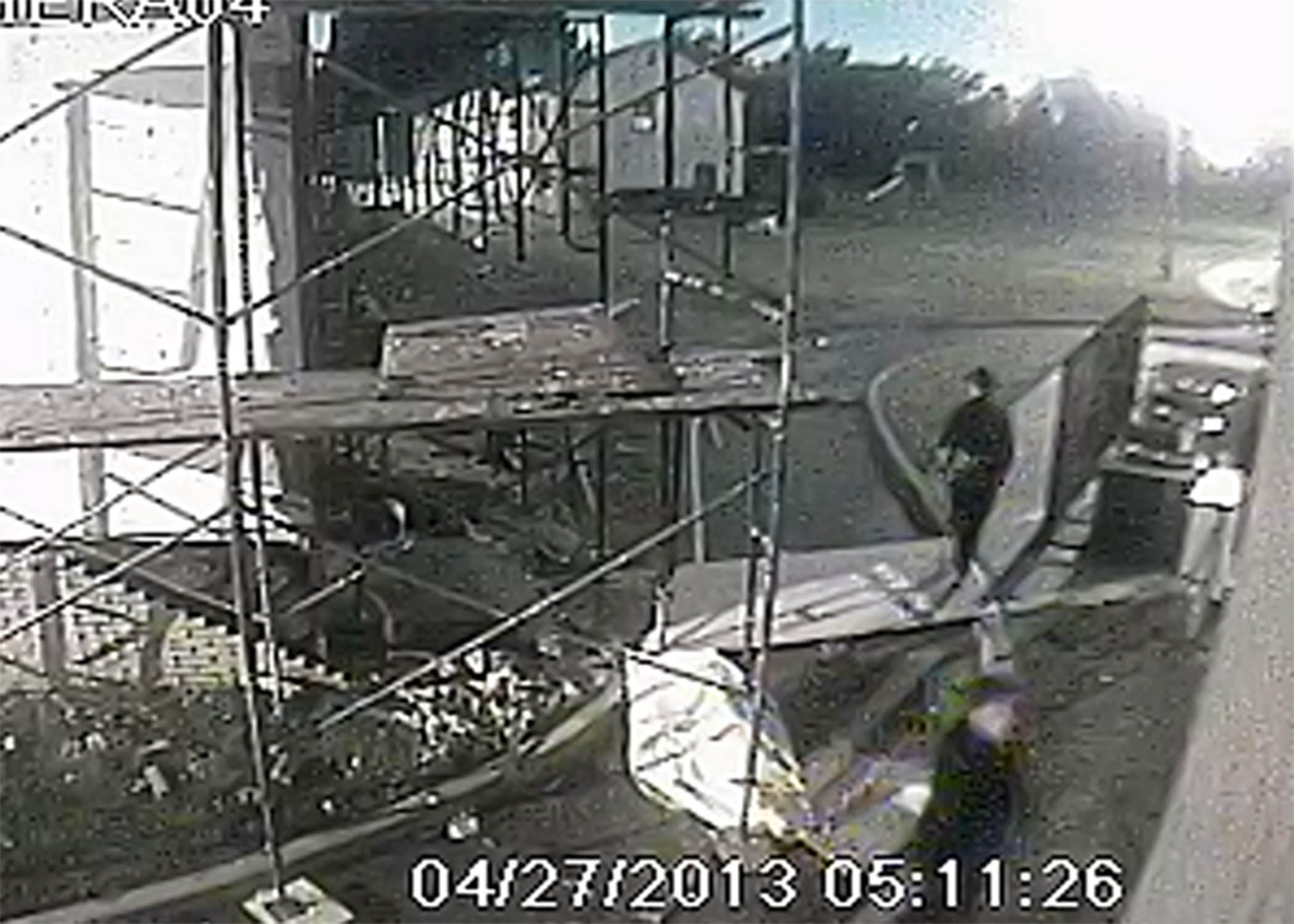 Oklahoma City Mosque Vandalism, Photo 4 of 4 (4/29/13)