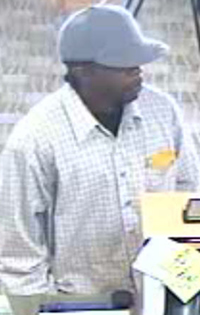 El Cajon, California Bank Robbery Suspect, Photo 6 of 7 (11/16/12)