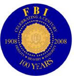 FBI 100th anniversary seal: Celebrating a century of Fidelity, Bravery, and Integrity