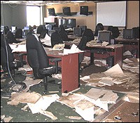 FBI New Orleans office in the aftermath of Hurricane Katrina