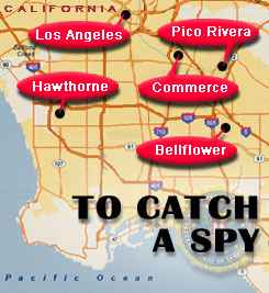To Catch a Spy map graphic