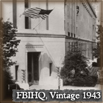 FBI Headquarters exterior in 1943