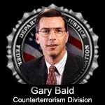 Gary Bald, head of Counterterrorism Division in 2004