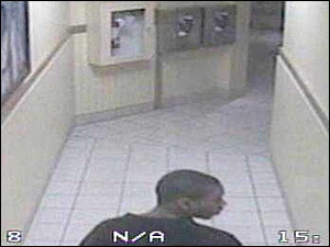 Jewelry Theft Ring Member in hallway