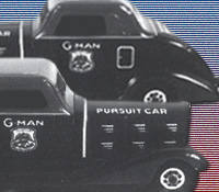 G-Man toy cars