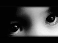 DHS human trafficking graphic showing eyes