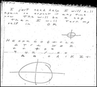 "Coded message from the ""Zodiac"" killer"