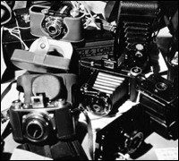 Spy cameras seized during World War II