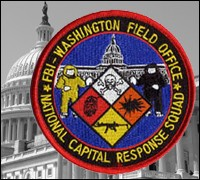 WFO Capital Response Squad patch with U.S. Capitol in background