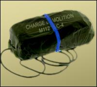 C-4 Plastic Explosives
