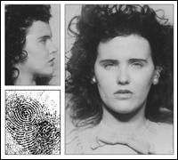 Elizabeth Short's Mug Shot and Fingerprint