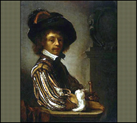 A Cavalier, by Dutch Artist Frans Van Mieris, Stolen From Sydney, Australia in 2007