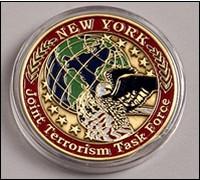 New York JTTF challenge coin
