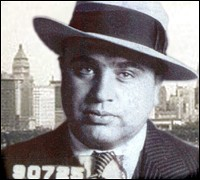 Chicago gangster Al Capone