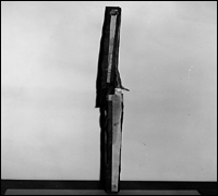 Periscope made to spy on guards while prisoners worked.
