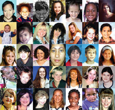 Missing Children 2007 collage