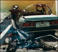 Chicago mobsters planted a bomb in the car of Michael Cagnoni, killing him, in 1981. Photo courtesy of the U.S. Department of Justice