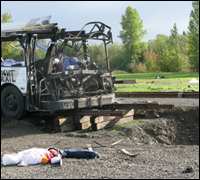 """Destruction Caused by Simulated """"Dirty Bomb"""" Explosion in Portland, Oregon (2007)"""