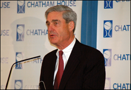The FBI has several thousand open terrorism-related cases at any given time, Director Robert Mueller said on Monday.