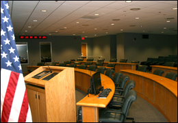 SIOC's largest briefing room