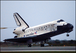 Space Shuttle secrets were among those allegedly stolen by a former California engineer. NASA photo.